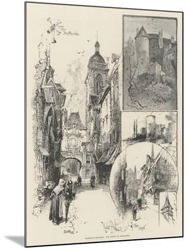 Rambling Sketches, Our Artist in Normandy-Herbert Railton-Mounted Giclee Print