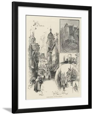 Rambling Sketches, Our Artist in Normandy-Herbert Railton-Framed Art Print