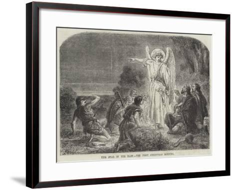 The Star in the East, the First Christmas Morning-James Godwin-Framed Art Print