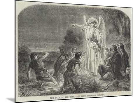 The Star in the East, the First Christmas Morning-James Godwin-Mounted Giclee Print