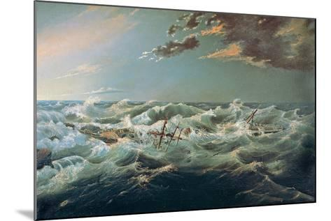 The Admella Wrecked, Cape Banks, 6th August, 1859-James Shaw-Mounted Giclee Print