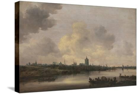 View of the City of Arnhem, 1646-Jan Van Goyen-Stretched Canvas Print