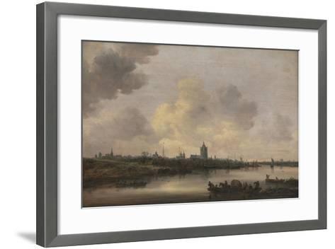 View of the City of Arnhem, 1646-Jan Van Goyen-Framed Art Print