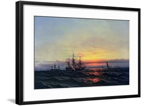 From Sail to Steam-James Hamilton-Framed Art Print