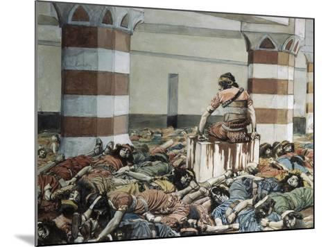 Abimelech Slays His Seventy Brethren-James Jacques Joseph Tissot-Mounted Giclee Print