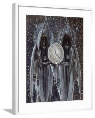 Thursday Evening (Holy Thursday)-James Jacques Joseph Tissot-Framed Art Print