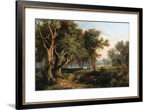 Woodland Scene-James Stark-Framed Art Print