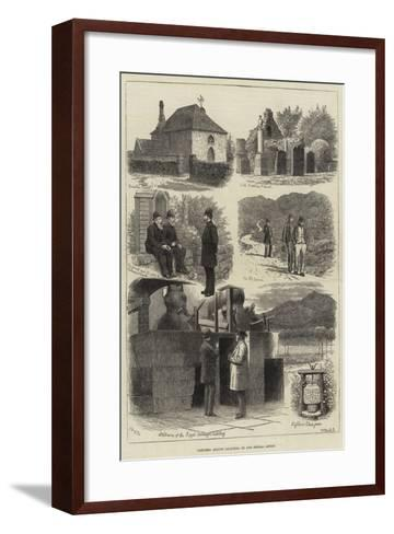 Sketches around Balmoral-J.M.L. Ralston-Framed Art Print