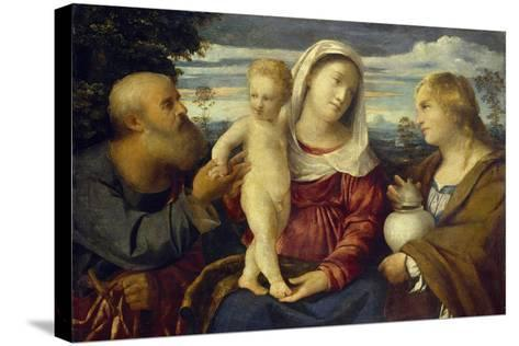 Sacra Conversazione, 16th Century-Jacopo Palma-Stretched Canvas Print