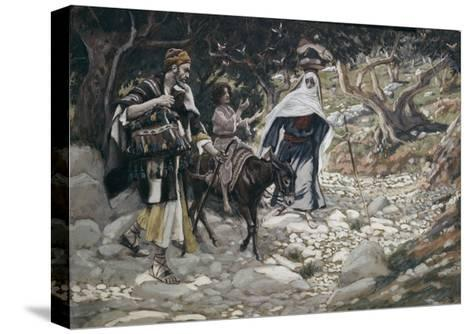 Return from Egypt-James Jacques Joseph Tissot-Stretched Canvas Print