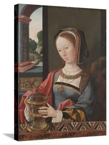Mary Magdalene, 1519-Jacob Cornelisz van Oostsanen-Stretched Canvas Print