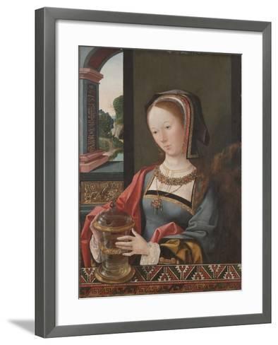 Mary Magdalene, 1519-Jacob Cornelisz van Oostsanen-Framed Art Print