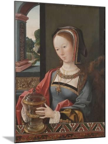 Mary Magdalene, 1519-Jacob Cornelisz van Oostsanen-Mounted Giclee Print