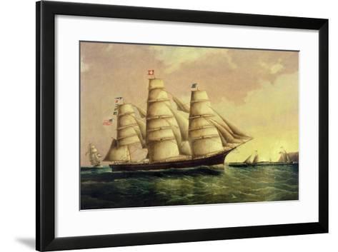Valparaiso-James E^ Buttersworth-Framed Art Print