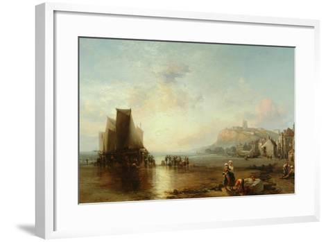 Old Folkestone, 1866-James Webb-Framed Art Print