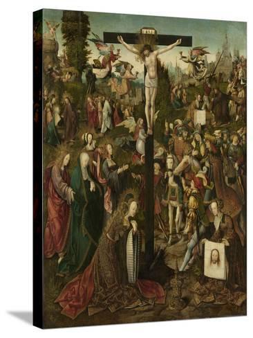 The Crucifixion, C.1507-C.1510-Jacob Cornelisz van Oostsanen-Stretched Canvas Print