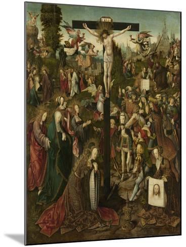The Crucifixion, C.1507-C.1510-Jacob Cornelisz van Oostsanen-Mounted Giclee Print
