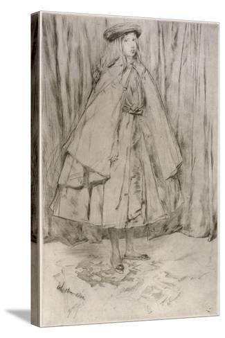 Annie Haden, 1860-James Abbott McNeill Whistler-Stretched Canvas Print