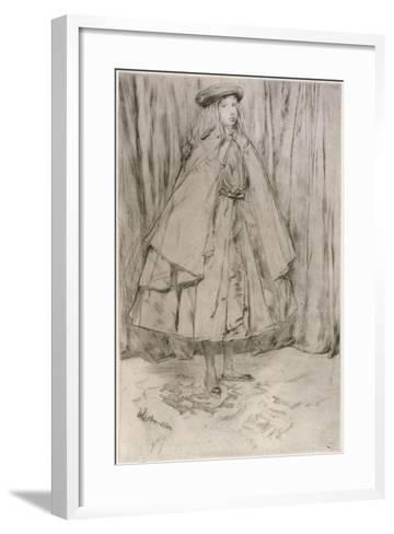 Annie Haden, 1860-James Abbott McNeill Whistler-Framed Art Print