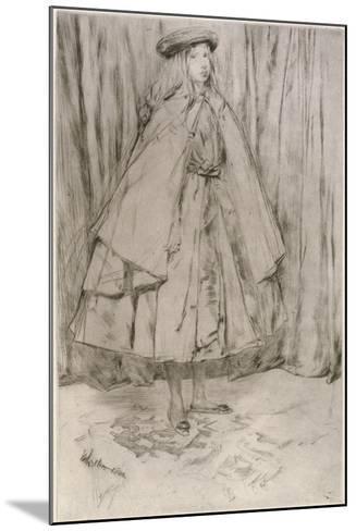 Annie Haden, 1860-James Abbott McNeill Whistler-Mounted Giclee Print