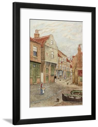 Old Shields-James Henry Cleet-Framed Art Print