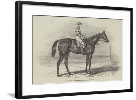 Sweetmeat, the Winner of the Doncaster Plate-James Herring-Framed Art Print