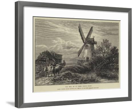 Old Mill at Ty Corss, North Wales-James Orrock-Framed Art Print