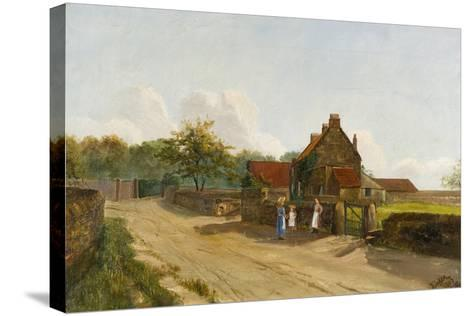 Eighton Banks, 1833-James Parker-Stretched Canvas Print