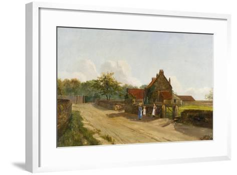 Eighton Banks, 1833-James Parker-Framed Art Print