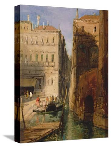 Venice-James Holland-Stretched Canvas Print