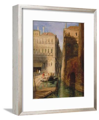 Venice-James Holland-Framed Art Print