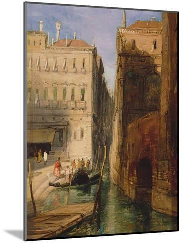Venice-James Holland-Mounted Giclee Print
