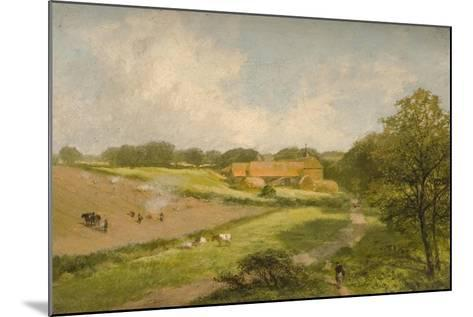 Landscape with Farm Buildings-James Peel-Mounted Giclee Print