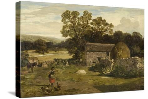 Landscape with a Farm-James Peel-Stretched Canvas Print