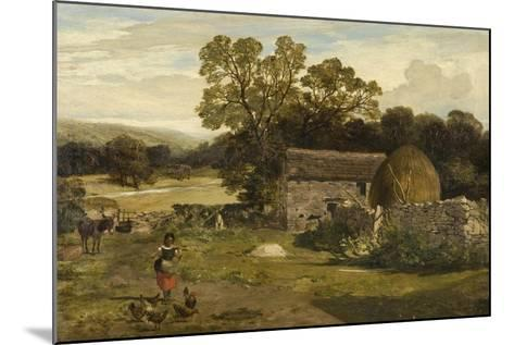Landscape with a Farm-James Peel-Mounted Giclee Print