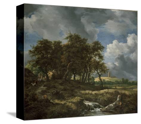 Landscape Near Muiderberg, Early 1650s-Jacob van Ruisdael-Stretched Canvas Print