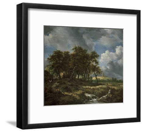 Landscape Near Muiderberg, Early 1650s-Jacob van Ruisdael-Framed Art Print