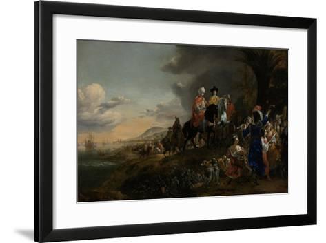 The Dutch Ambassador on His Way to Isfahan, 1653-59-Jan Baptist Weenix-Framed Art Print