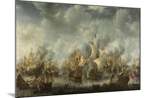 The Battle of Terheide, 1653-66-Jan Beerstraten-Mounted Giclee Print