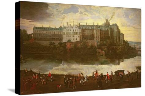 Tervuren Castle in Brussels-Jan Brueghel the Elder-Stretched Canvas Print