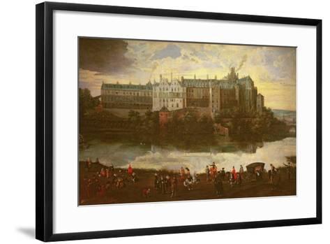 Tervuren Castle in Brussels-Jan Brueghel the Elder-Framed Art Print