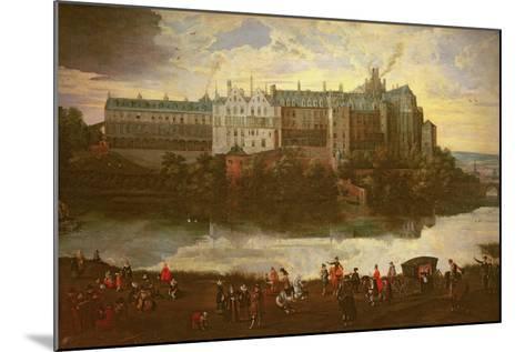 Tervuren Castle in Brussels-Jan Brueghel the Elder-Mounted Giclee Print