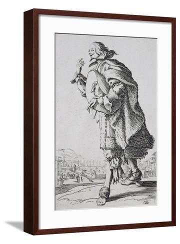 Etching from the Noblesse Series-Jacques Callot-Framed Art Print
