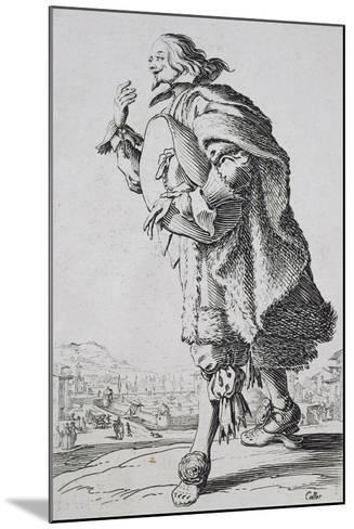 Etching from the Noblesse Series-Jacques Callot-Mounted Giclee Print