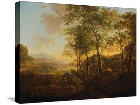 Wooded Hillside with a Vista, C.1645-Jan Both-Stretched Canvas Print