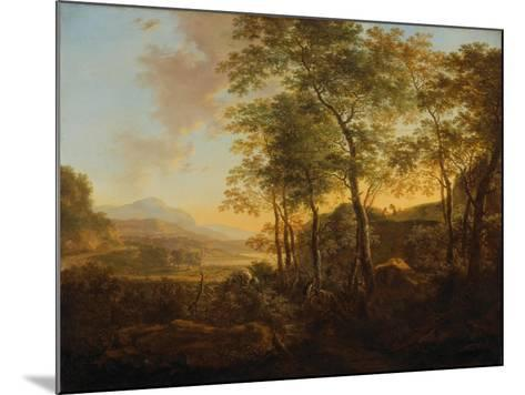 Wooded Hillside with a Vista, C.1645-Jan Both-Mounted Giclee Print