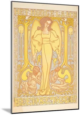 Het Hoogeland, Beekbergen, 1896-Jan Theodore Toorop-Mounted Giclee Print