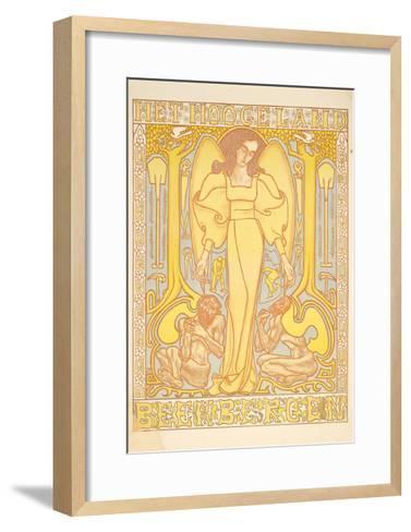 Het Hoogeland, Beekbergen, 1896-Jan Theodore Toorop-Framed Art Print