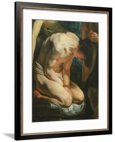 The Sacrifice of Isaac-Jacob Jordaens-Framed Art Print