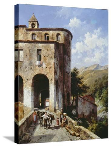 Church of San Spirito-Jacques Carabain-Stretched Canvas Print